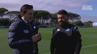 """Napoli, Gattuso: """"Ci sarà da soffrire, Messi incredibile"""""""