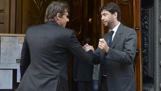 """Agnelli: """"Conte è la Juve ma ha scelto l'Inter e ora ha l'obbligo di vincere"""""""
