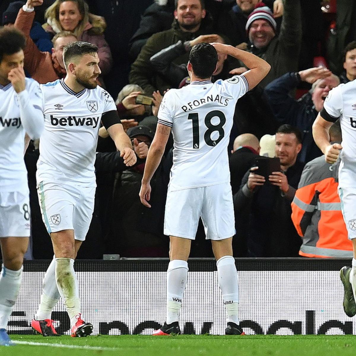 Premier, il Liverpool ribalta il West Ham
