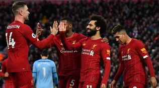 E' un Liverpool da record: 18 successi di fila inPremier