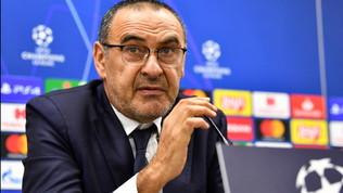 """Juve, Sarri: """"In Italia obbligati a vincere, la Champions è un sogno"""""""
