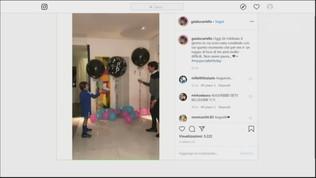 Inzaghi sarà ancora papà: la festa al momento della notizia