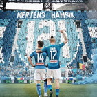 """Napoli, Mertens festeggia il record: """"Ciao Marek!"""""""