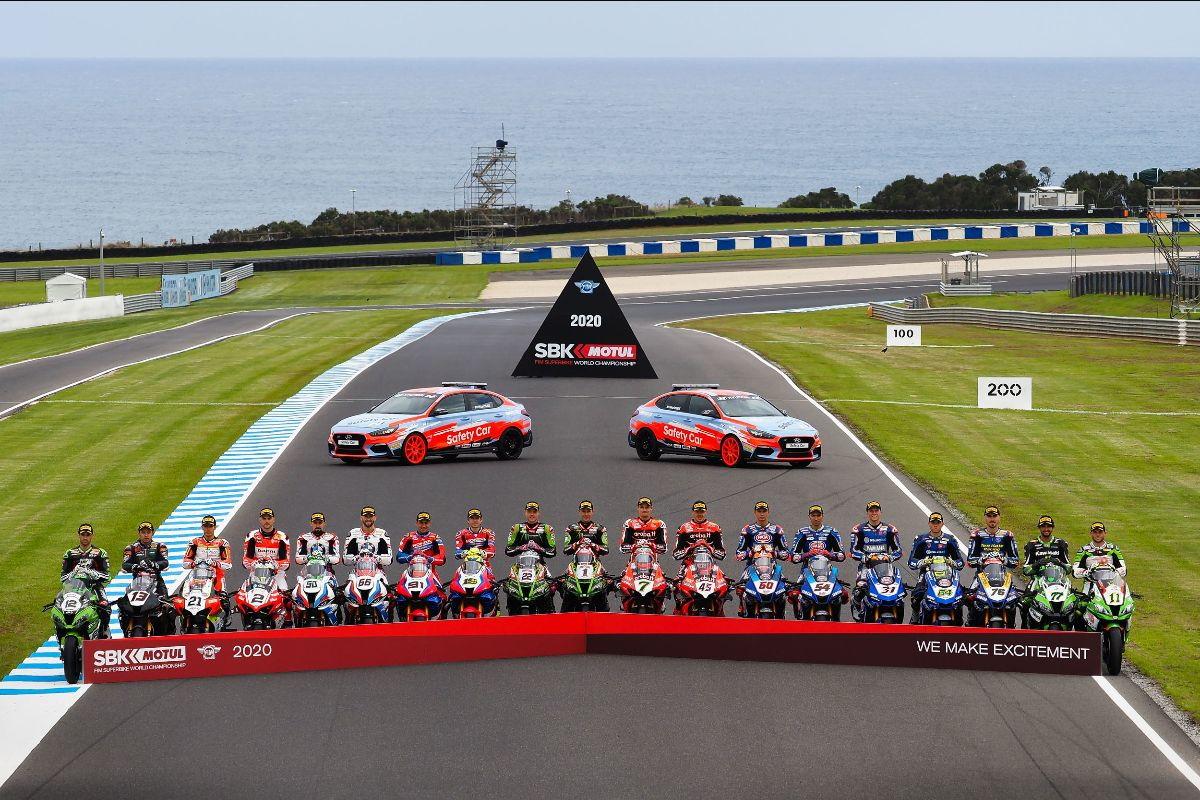 A Phillip Island si schierano moto e piloti della stagione 2020.<br /><br />