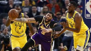 Lakers show senza LeBron, Gallinari guida la rimonta Thunder
