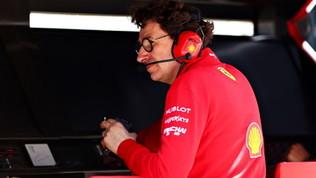 """Ferrari, Binotto è preoccupato: """"Insufficienti, non siamo veloci"""""""