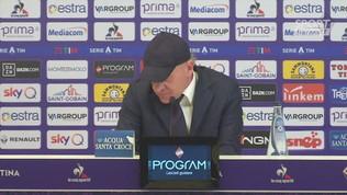 """Fiorentina, Iachini: """"A Udine partita complicata sul piano tattico"""""""