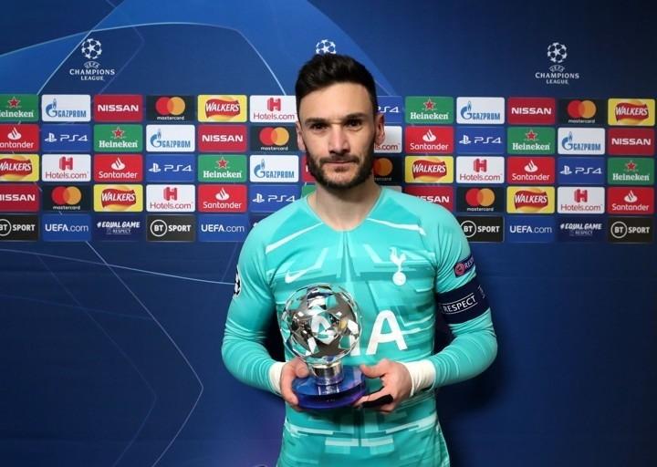 Tottenham - Lipsia 0-1 - Hugo Lloris