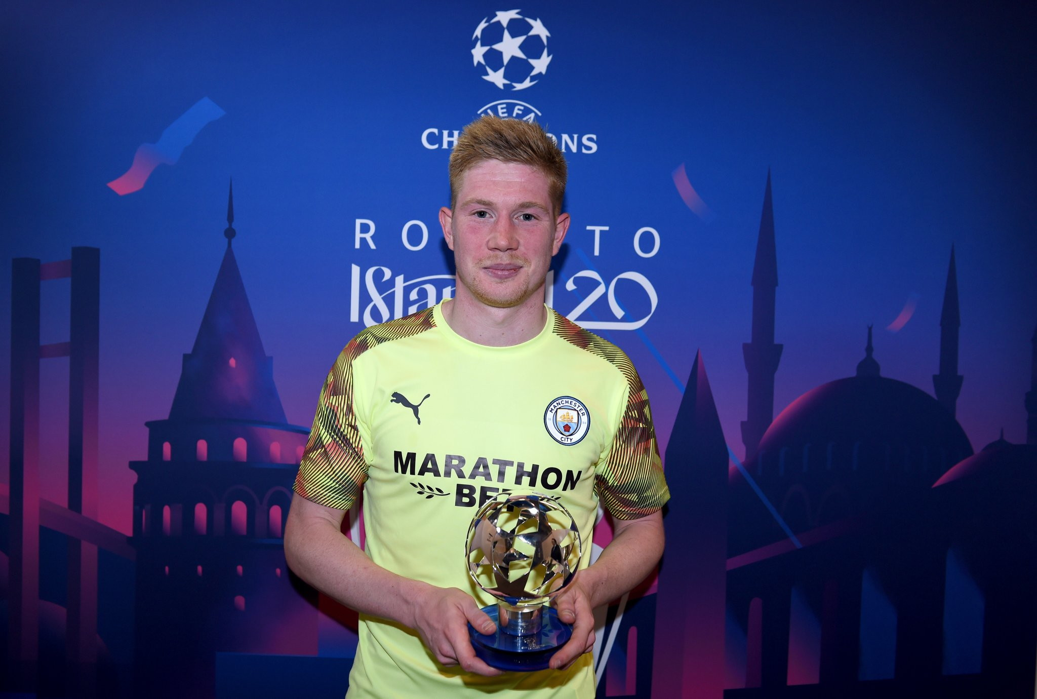 Real-Manchester City - De Bruyne