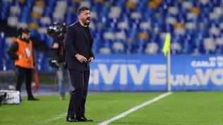 """Napoli, Gattuso: """"Dobbiamo essere più cattivi davanti"""""""