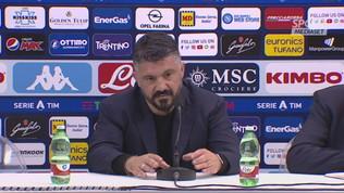 """Gattuso: """"Più cattiveria in avanti"""""""