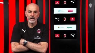 """Milan, Pioli: """"Convinti di potercela giocare con la Juve"""""""