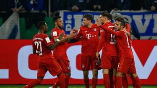 Il Bayern beffa lo Schalkein coppa, storicoSaarbrucken