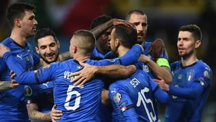 Il calendario dell'Italia: si parte a settembre con la Bosna
