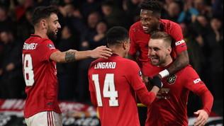 Ighalo manda avanti lo United, Rooney resta a secco