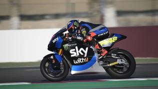 Moto2: Roberts davanti a Bezzecchi e Marini