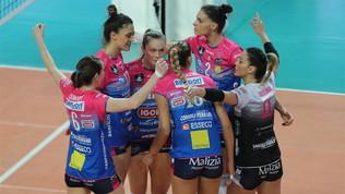 Recuperi italiani in Slovenia, Conegliano già in semifinale