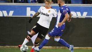Il Valencia non fa paura: solo pari con l'Alaves