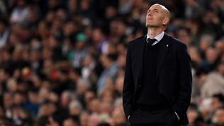 """Zidane: """"Oggi alleno il Real, domani chissà ma Juve e Francia non mi hanno chiamato"""""""