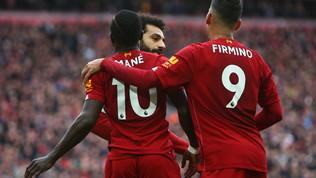 Liverpool ok in rimonta e titolo più vicino, l'Arsenalsi rialza