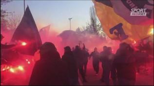 Inter, 300 tifosi ad Appiano prima della Juve