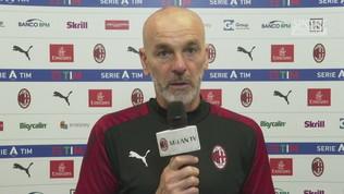 """Milan,""""Pioli: """"Sento la fiducia del club"""""""