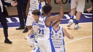 Basket, Serie A: Sassari per un soffio sulla Virtus Roma, lo scontro salvezza va a Trieste