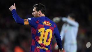 Messi bomber da record:miglior marcatore di sempre nei 5 campionati top d'Europa