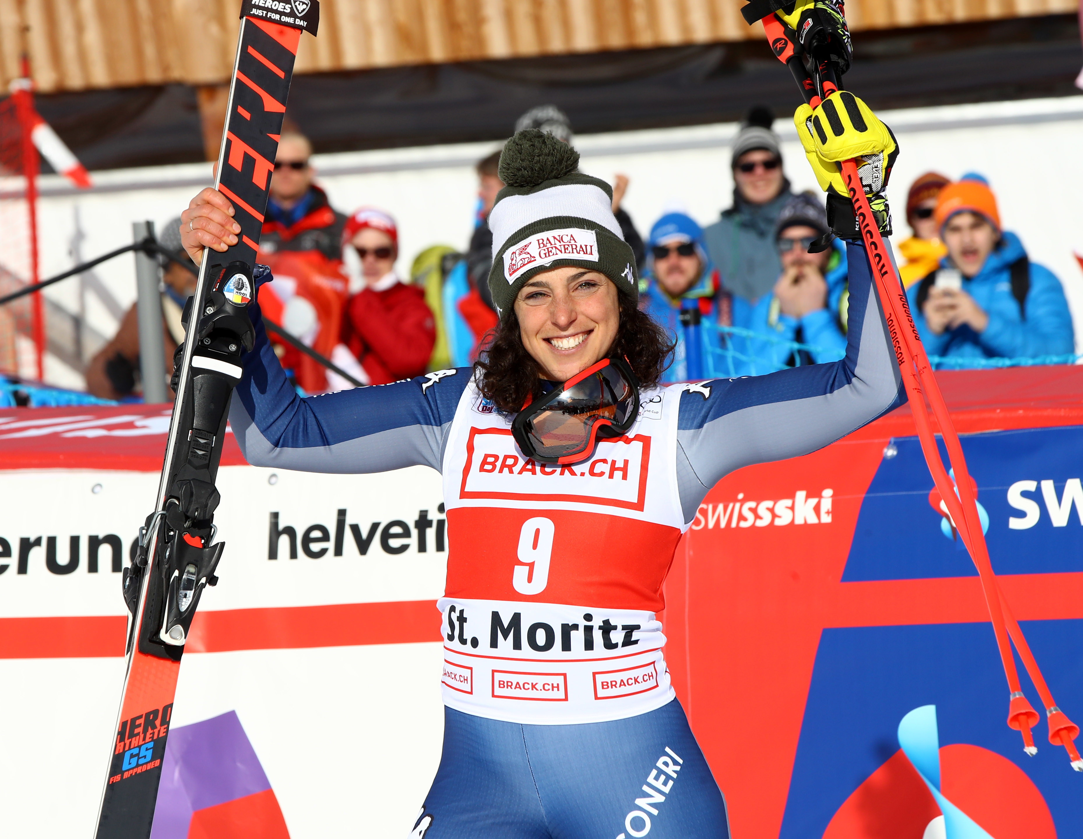 Cancellate le gare di Aare. Federica Brignone conquista la Coppa del Mondo di sci, prima azzurra a riuscire in questa impresa.