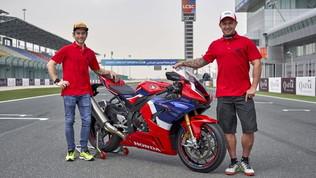 Bautista porta in pista la nuova Honda Fireblade SP
