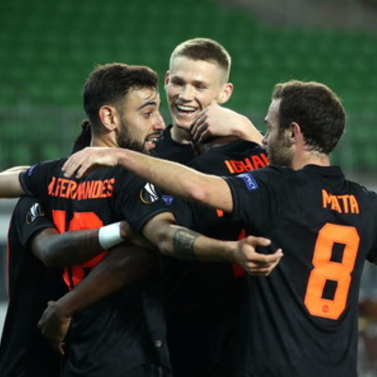 Europa League: Manchester United a valanga sul Lask Linz, il Basilea sorprende l'Eintracht