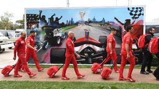 La F1 lascia Melbourne