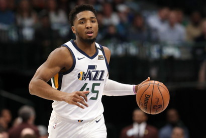 Donovan Mitchell (Basket-Utah Jazz)