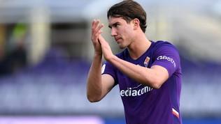 Fiorentina, Dusan Vlahovic positivo al Coronavirus