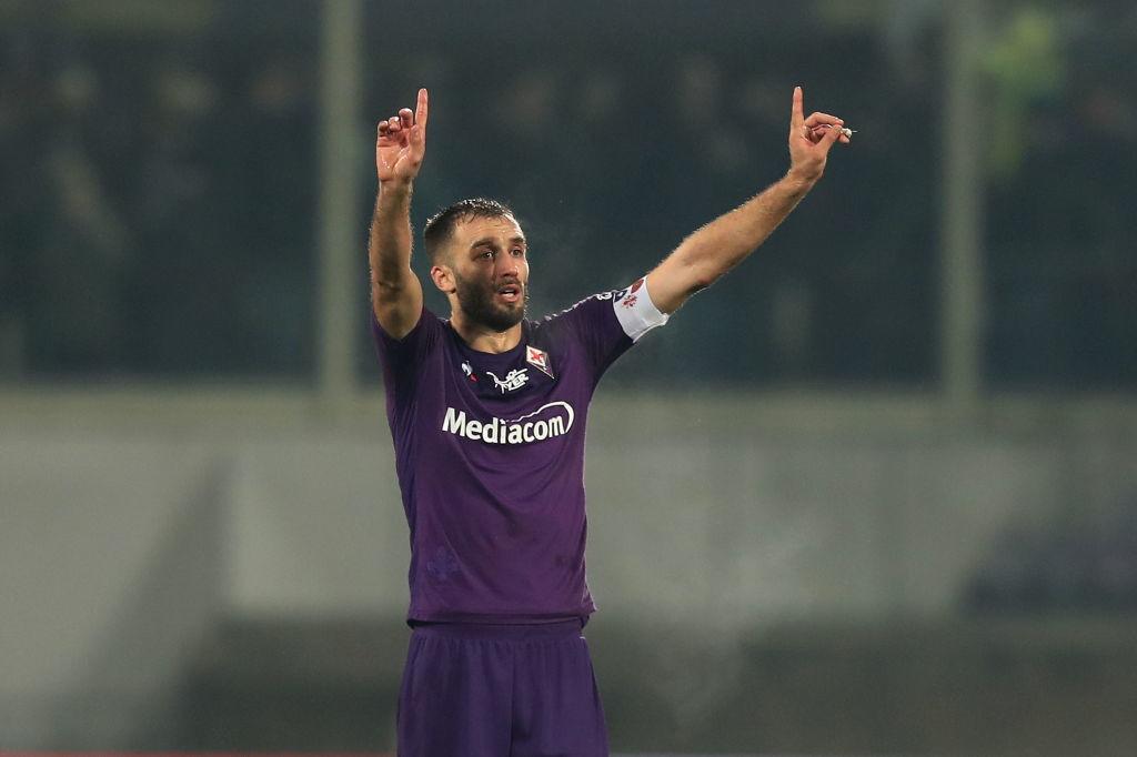 German Pezzella (calcio - Fiorentina) guarito