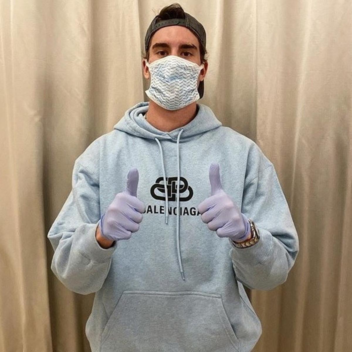 """Coronavirus,Vlahovic: """"La febbre si è alzata a 39 e ho capito"""""""