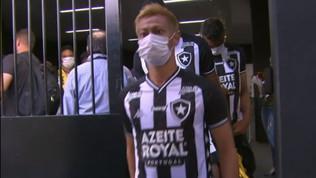 Honda in campo con il Botafogo, l'ex Milan scrive la storia
