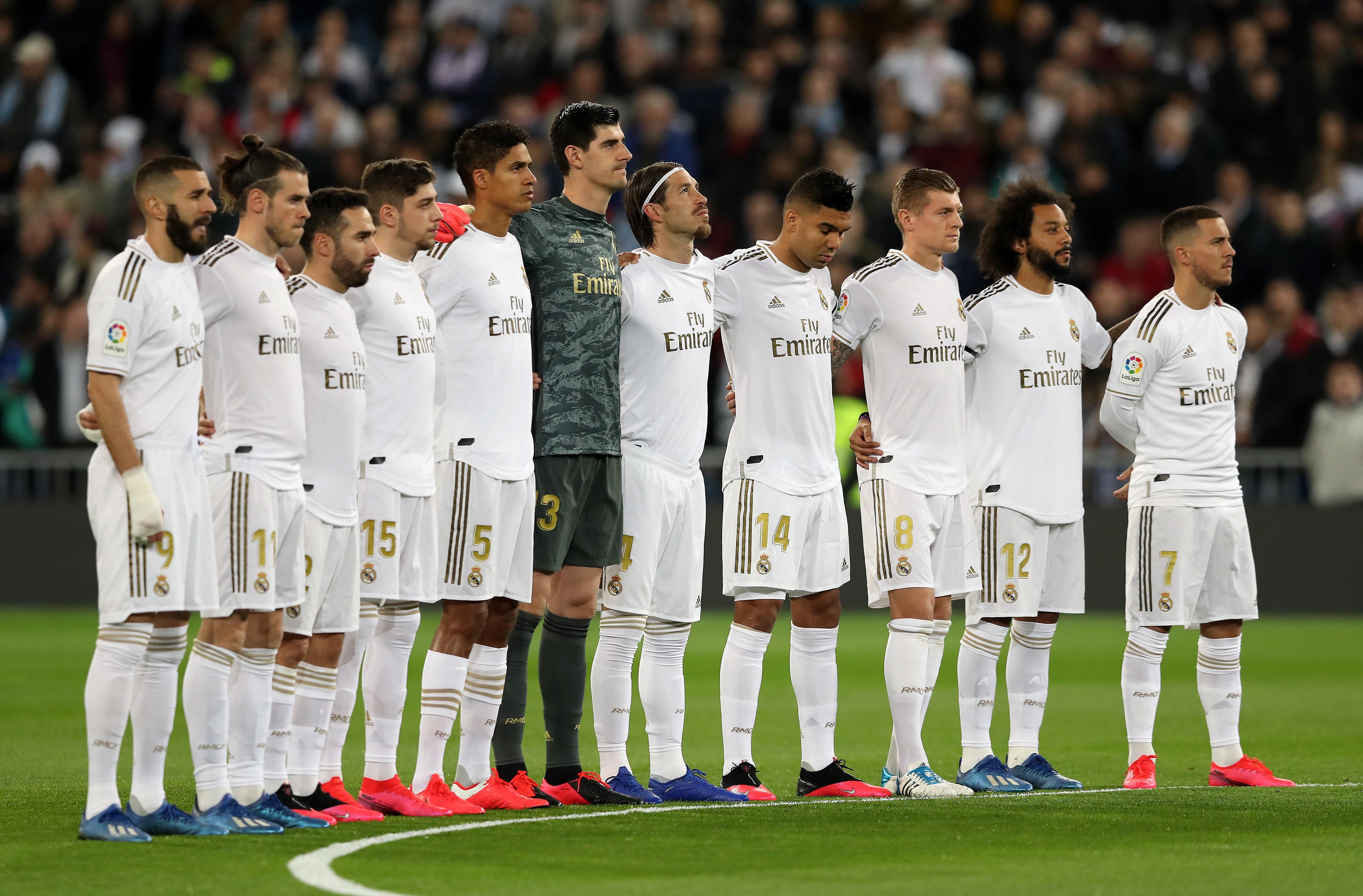 4) Real Madrid: 1,1 miliardi di euro