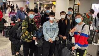 IlWuhan Zalltorna in Cina dalla Spagna e finisce in quarantena