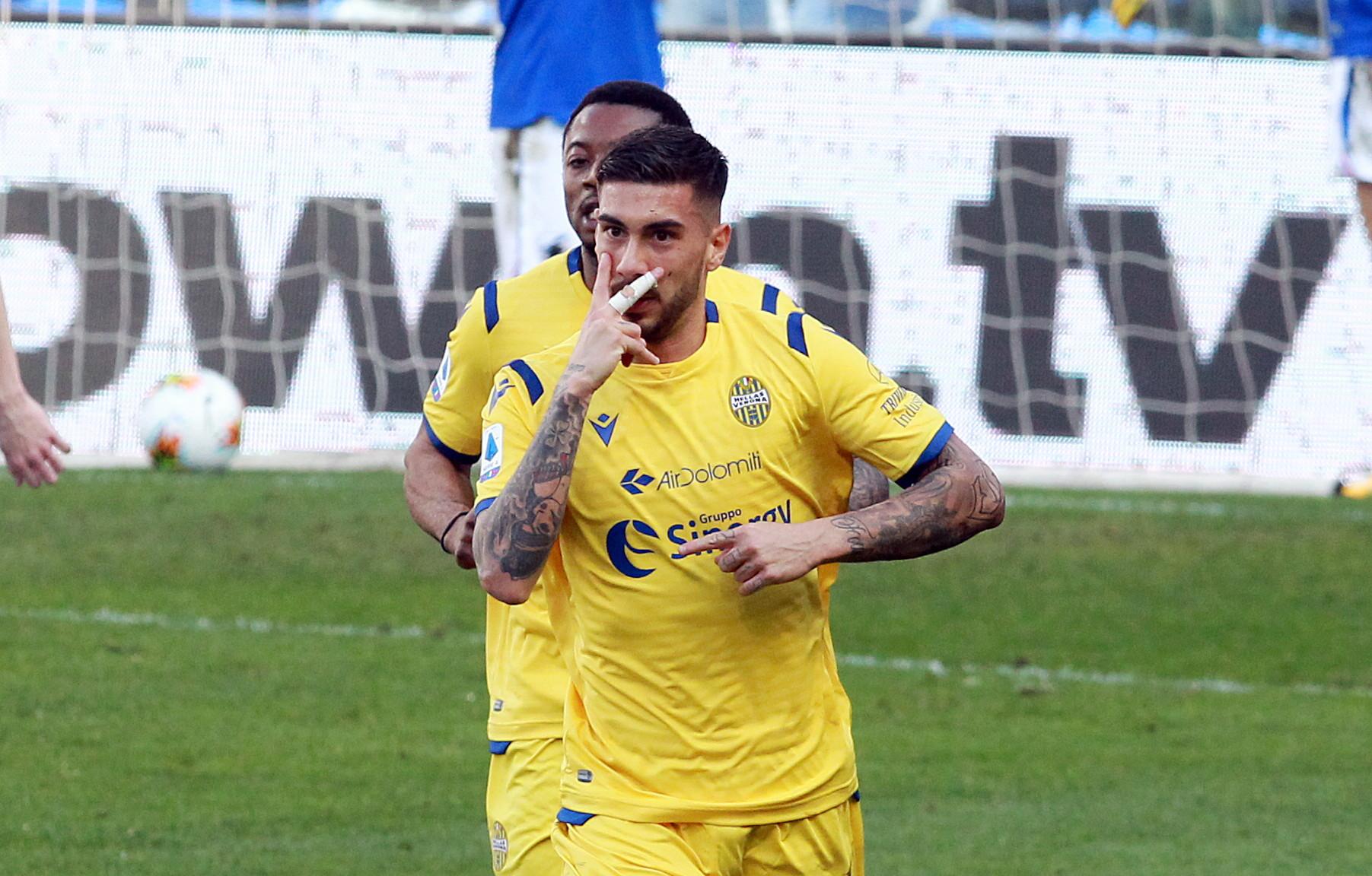 Mattia Zaccagni (calcio - Verona) guarito