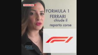Coronavirus, la Ferrari chiude il reparto corse