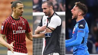 Serie A oltre il 30 giugno? Quanti big in scadenza