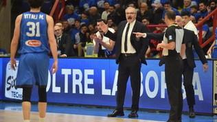 """Italbasket, Sacchetti: """"Tagliarmi lo stipendio? Sono pronto"""""""