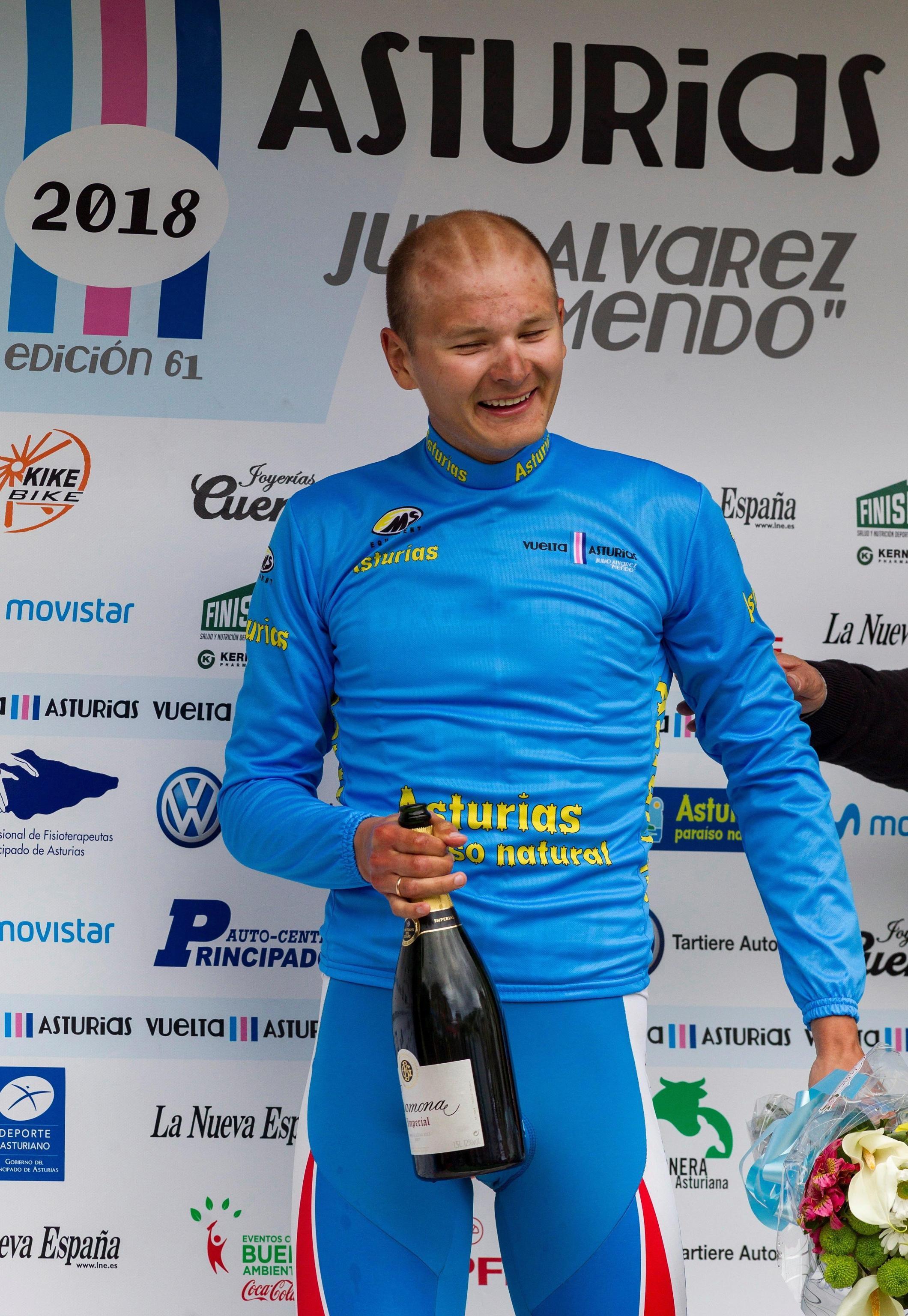 Dmitriy Strakhov (Ciclismo - Gazprom-RusVelo)