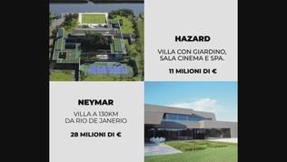 Quarantena a 5 stelle: un giro tra le super abitazioni dei calciatori