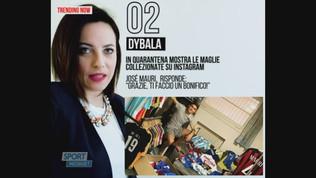 """Dybala, troppe maglie di Josè Mauri. """"Grazie, ti faccio un bonifico"""""""