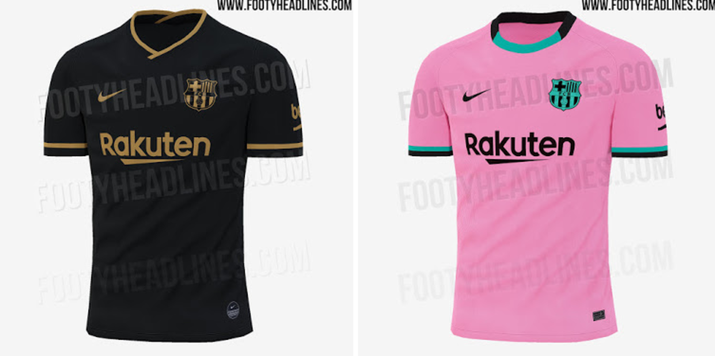 Barcellona e Real Madrid: rosa e nero per entrambe nel 2020/21 ...
