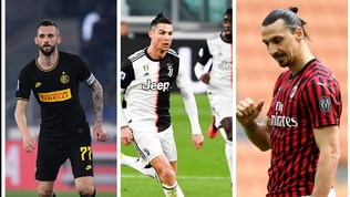 Da Ronaldo a Brozovic, occhio a ritorni: possibile quarantena per i giocatori andati all'estero