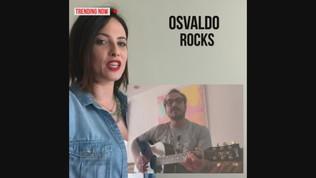 """Dani Osvaldo in quarantena intona: """"Coi capelli di Frey..."""""""