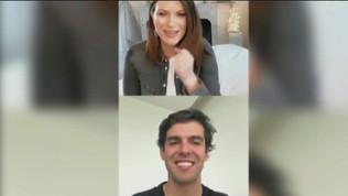 Kakà e Laura Pausini: duetto rossonero
